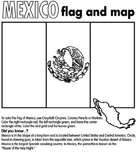 Mexico Coloring Page Crayola Com Mexico Printable Coloring Pages
