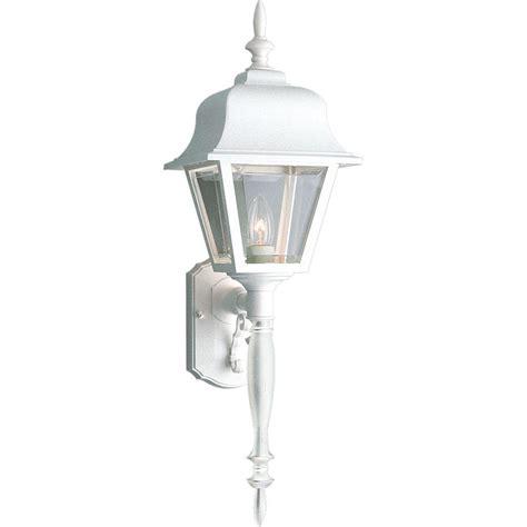 brushed nickel porch light progress lighting brassguard collection 1 light brushed