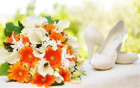 Wedding Background Orange by Orange White Bridal Bouquet Wallpaper 2880x1800 28174