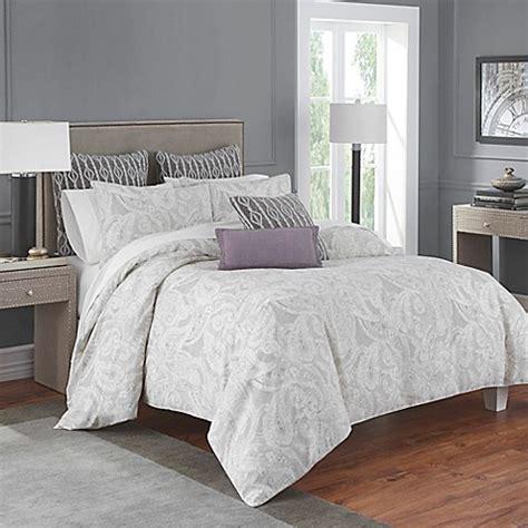 bed bath and beyond flatiron flatiron 174 linen paisley comforter set bed bath beyond