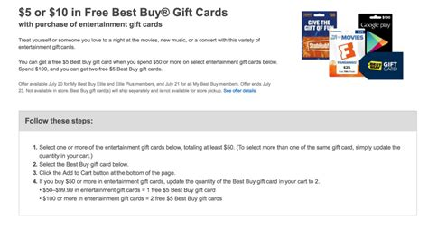Best Buy Gift Card Purchase - get some free best buy money w the purchase of select gift cards from google play