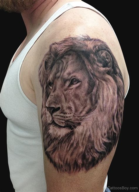 lion shoulder tattoos for men tattoos designs pictures page 38