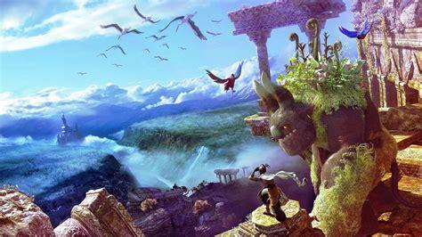 imagenes de paisajes anime fantasia wallpapers gratis imagenes paisajes fondos