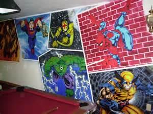 full superhero wall mural by dark reign fanart central avengers assemble mural