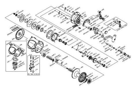 okuma reel parts diagram cabela s daiwa okuma shimano parts diagrams