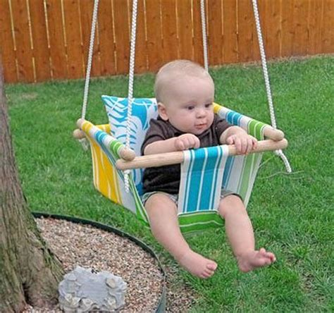 baby on swing 20 fun projects to sew for kids hidden treasure crafts