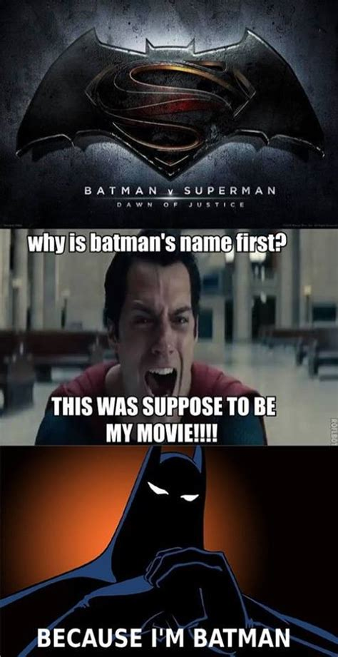 Superman Better Than Batman Memes - batman vs superman movie funny pictures quotes memes