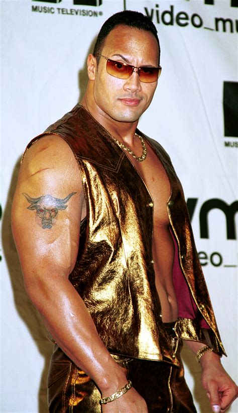 dwayne johnson tattoo name great the rock puns gallery ebaum s world
