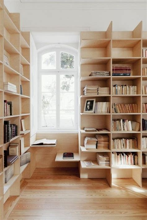 bookcase with reading nook plywood shelves store pinterest study nook nooks