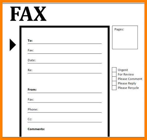 Fax Cover Sheet Template Pdf by 8 Fax Cover Letter Pdf Coaching Resume