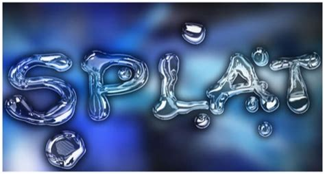 water typography tutorial photoshop tutorial effetti acqua e gocce con photoshop 187 italian