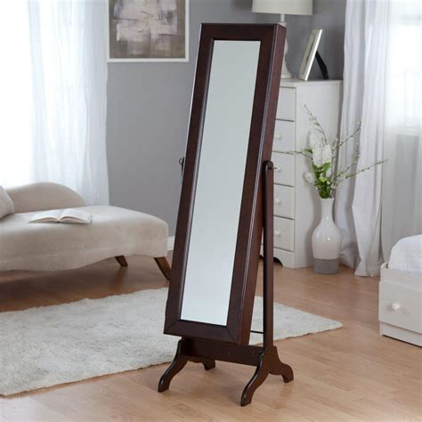 jewelry armoire standing mirror choosing best standing mirror jewelry armoire doherty house