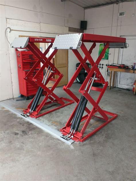 In Ground Garage Lift by Best 25 Garage Lift Ideas Only On Garage Car