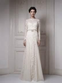 sleeve white lace wedding dress 30 gorgeous lace sleeve wedding dresses