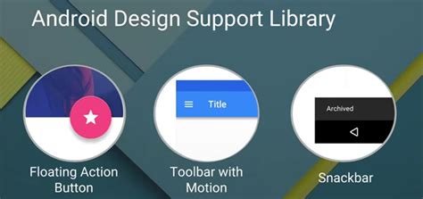 Google Design Support Library | google i o 2015 review for android developers android