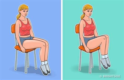 7 exercises for a flat belly and a thin waist you even do while sitting in a chair