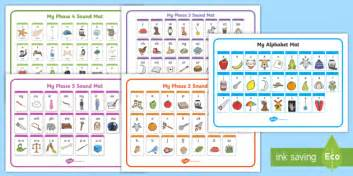 phase 2 letters and sounds mat alphabet and phase 2 5 sound mat pack phase sound mat
