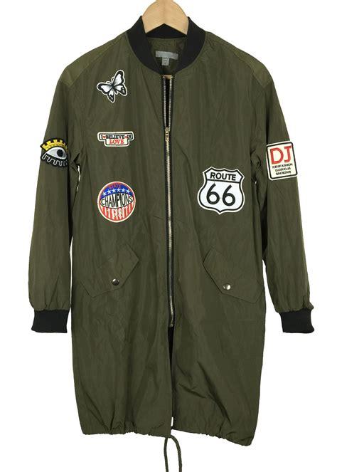 olive color jacket oversize olive color jacket womens bonber jacket with