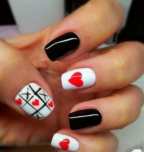 imagenes de uñas pintadas navideñas las 25 mejores ideas sobre u 241 as cortas en pinterest