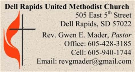 United Methodist Business Cards