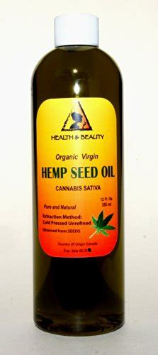 healthy unrefined fats hemp seed unrefined organic carrier cold