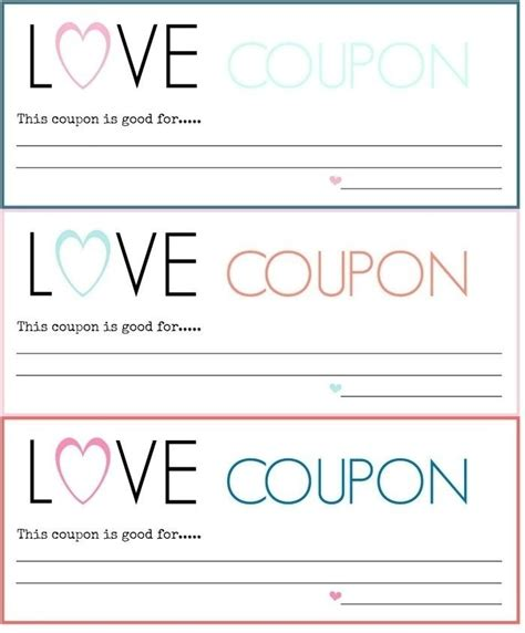 Love Coupon Template Download Free Larissanaestrada Com Coupon Maker Template