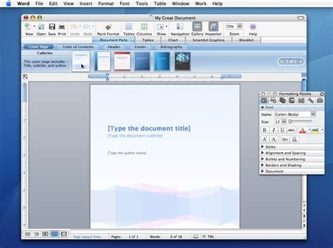 Microsoft Office 2008 by Microsoft Office 2008 For The Mac Delayed Until January 2008