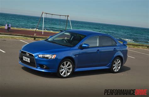 lancer mitsubishi 2015 2015 mitsubishi lancer xls review video performancedrive