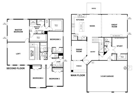 richmond floor plan richmond american homes las vegas floor plans