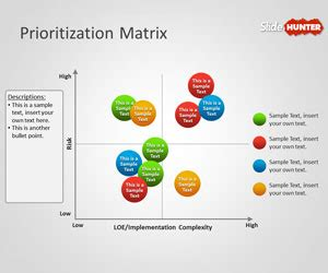 Priority Matrix Template by Free Prioritization Matrix Powerpoint Template Free