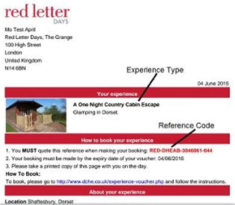 Experience Letter Days gling experience voucher redemption for dorset country holidays