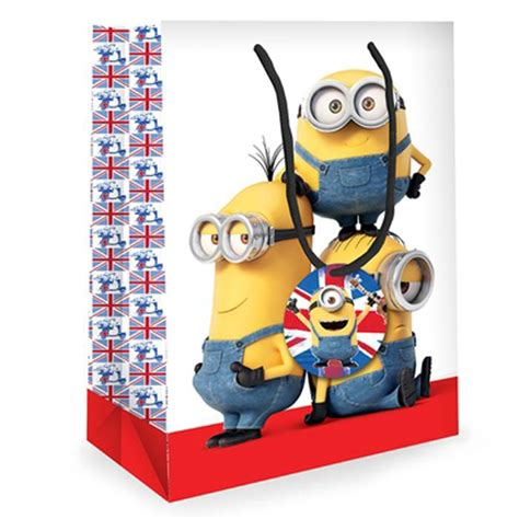 Airval International Minions Pouch Gift Set medium minions gift bag mm024 character brands