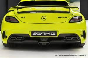 2014 mercedes sls amg black series by amg performance