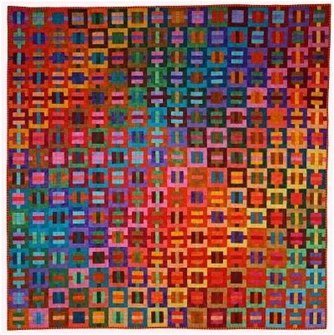 Kent Williams Quilts by Selvage Op Quilt