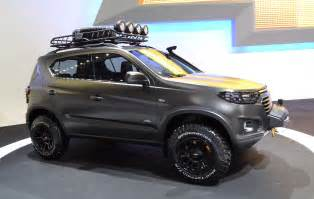 gm brings the new chevrolet niva as scheduled concept