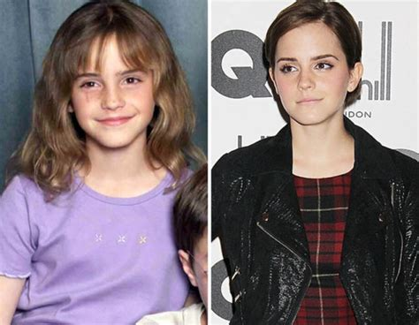 emma watson then and now child stars who are not kids anymore see them then and