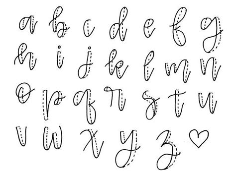 lettering tutorial step by step how to fake calligraphy projects to try pinterest