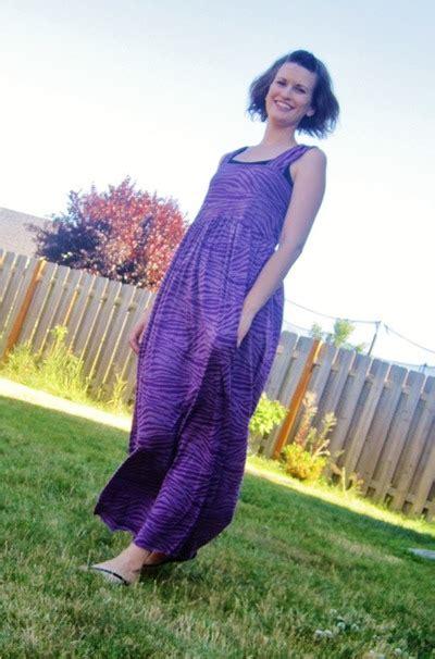 Simpela Maxi simple maxi dress allfreesewing