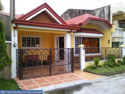 phil house design bungalow house plans philippines design small two bedroom