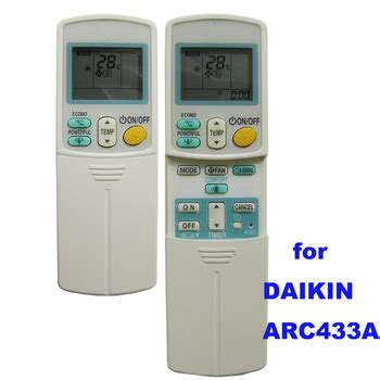 Ac Daikin Di Electronic Solution daikin arc433a87 air conditioner universal remote