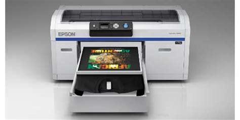 Printer Dtg Epson Surecolor Sc F2000 epson launches surecolor sc f2000 direct to garment t