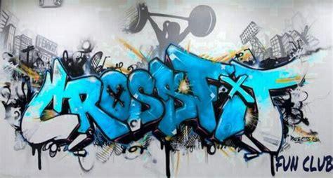 graffiti gym art gym wall decal graffiti wall art
