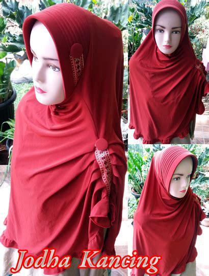 Jilbab Instan Jodha bergo jodha kancing sentral grosir jilbab kerudung i