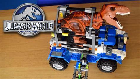 Frame Lego Jurassic World T Rapped T Rex Tracker Jurassic World Lego Set