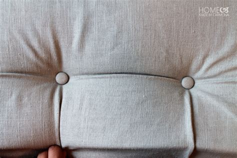 button tuck headboard excellent diy project a diamond tufted headboard