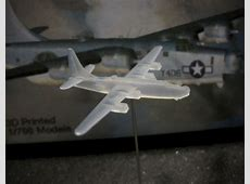 1/700 Consolidated PB4Y-2 Privateer - (x2) 3D Printed, Tom ... B 24 Ball Turret