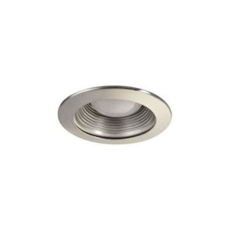 Recessed Light Fixtures Baffle Trim Recessed Light Fixture Trim For Use With 4 034 Recessed Lights Brushe Ebay