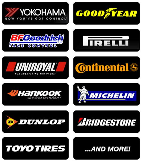 Best Car Tires List Tire Brands