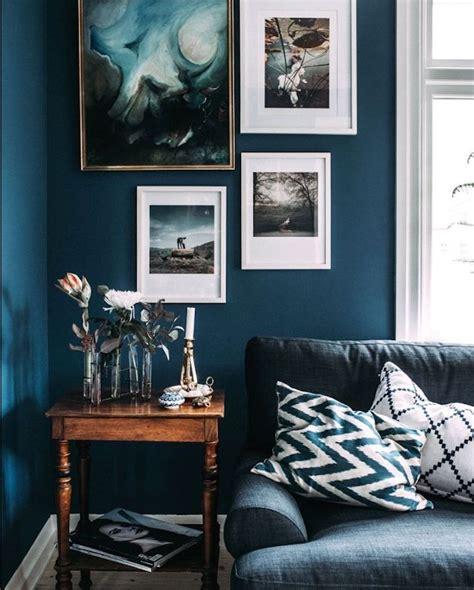 Mur Bleu Marine by Mur Bleu Marine Bleu Orage Tollens Avec Cuisine Mur Bleu