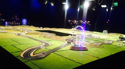 koenigsegg scalextric ultimate scalextric slot car track up for bids scale size